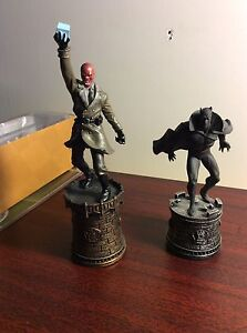 Eaglemoss Marvel chess pieces