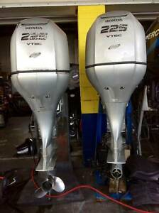 PAIR of 225hp Honda Outboard Motors S2786 S2786 Southport Gold Coast City Preview