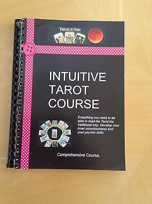 Certificated Course. Learn to Read Tarot Cards & Develop your Psychic Powers.