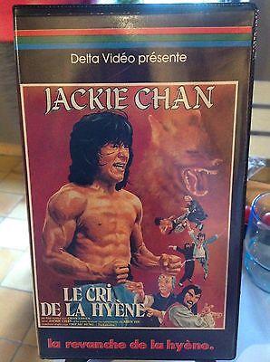 VHS - Le cri de la hyène - Chan Chuen - Jackie Chan - Kung Fu - Karaté