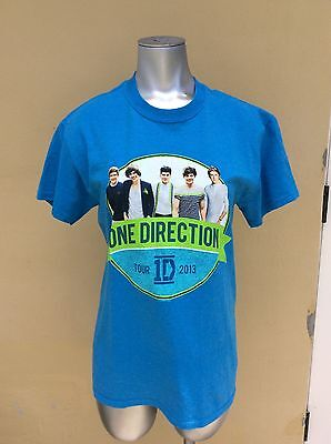 One Direction Concert T-Shirt 2013 Women's Small