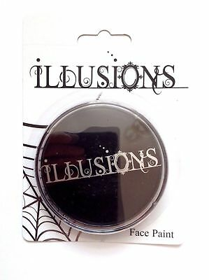 Halloween Face Paint Illusions (Halloween Face Paint Aqua Illusions Make Up Black)