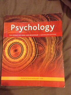 PSYCHOLOGY - SCIENCE OF MIND AND BEHAVIOUR AUSTRALIA EDITION Tea Tree Gully Tea Tree Gully Area Preview