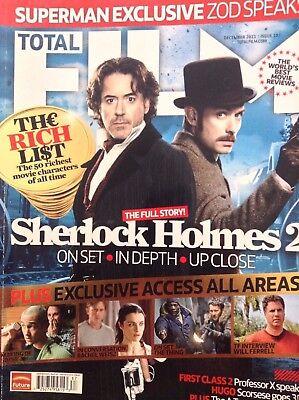Total Film Magazine Robert Downey Jr  December 2011 121317Nonrh