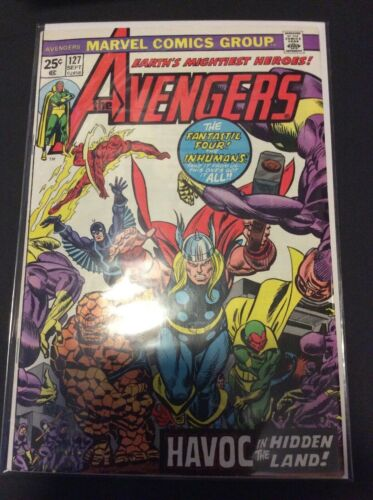 The Avengers 127 FN/VF 1974 Marvel comics