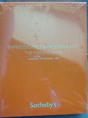 Soteby's Impressionist & Latest Art The Evening Sale 3 Vol. London Feb 8, 2005