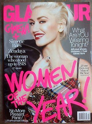 GWEN STEFANI Women of the Year GLAMOUR Magazine December 2016
