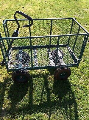 Garden trolley  high sides