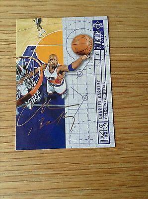 Charles Barkley Silver Signature NBA Basketball trading card