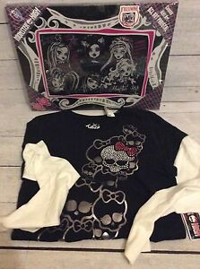 Monster High Canvas Wall Decor with Justice Shirt - NEW