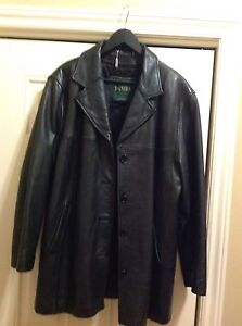 Smoking deal. Men's leather jacket.