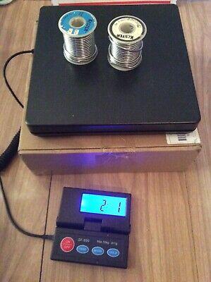 Vintage Kester Solder 2lbs. .125 Dia. 5050 Solder Wire