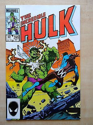 The Incredible Hulk #295 May 1984 Marvel Comics Turning Point! Bagged & Boarded