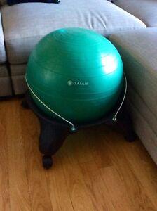 Backless balance yoga ball chair (Still Available )