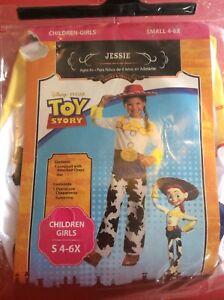 Disney Toy Story Jessie Costume small 4-6