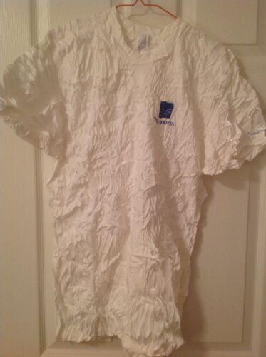 WACHOVIA BANK White Cotton T-Shirt -  Size XL