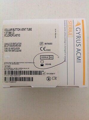 Gyrus Acmi Collar Button Vent Tube Ref 145214 Exp 2023 6pcs