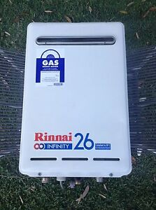 Rinnai infinity 26 natural gas hot water unit North Narrabeen Pittwater Area Preview