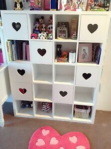 Sweetheart bookcase - 20 small cubes - kids room Concord Canada Bay Area Preview