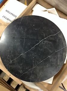 Round marble table tops