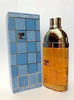 COURREGES IN BLUE BY ANDRE COURREGES EAU DE TOILETTE 3.4 FL. OZ 100ML FOR WOMEN.