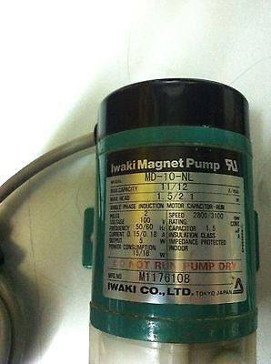 Iwaki Magnet Pump Model Md-10-nl