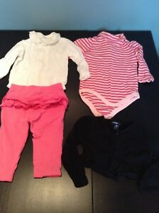 12 pc lot baby girl clothing 6-12 months great condition $15
