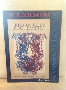 Principles of biochemistry student companion Burwood East Whitehorse Area Preview