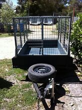 6x4 steel box trailer with 1M cage 1 year old Pearcedale Casey Area Preview