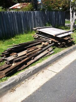 Free hardwood fence pailings / firewood recycle Strathfield Strathfield Area Preview