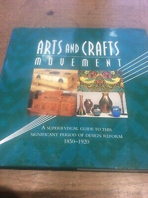 Arts & Crafts Movement Furniture Metalwork Glass Pottery Textiles Interiors HB