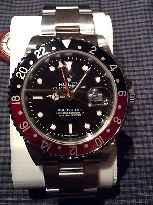 ROLEX GMT MASTER ll 16710 BRAND NEW, with 3186 MOVEMENT& STICK DIAL, VERY RARE