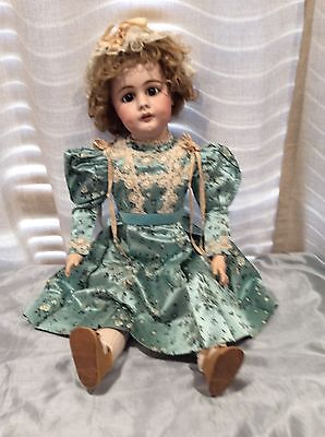 """29"""" Beautiful Antique Bisque Doll... S H #759."""