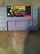 Super Nintendo Donkey Kong Country