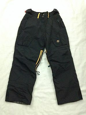 World Industries Outerwear Youth Snow Ski Pants Black Size XLarge Black SXS