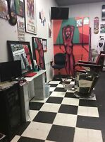 Need Full Time  Barber to work in Kensington Market 2Mnth FREE