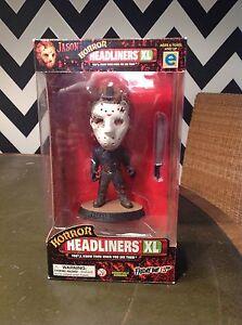 BNIB RARE Horror Headliners XL Jason - Friday the 13th Figure unopened