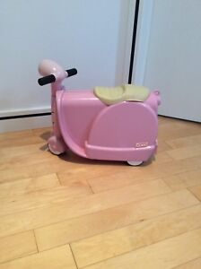 Toddlers Vespa riding toy.