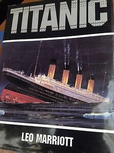 Titanic Hardcover Book by Les Marriott Oaklands Park Marion Area Preview