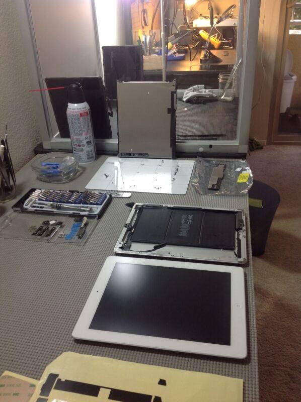 Repair Service Ipad 3rd Generation Broken Cracked Digitizer Glass Screen