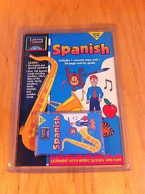 Learning Horizons Spanish  Cassette & Book English Espanol  *