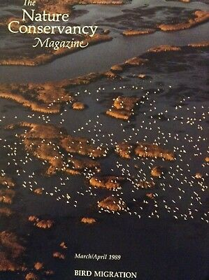 The Nature Conservancy Magazine Bird Migration March/April 1989 010319nonrh