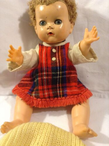 1950's Ideal Doll Betsy Wetsy Pat. No. 22520 Made In U.S.A