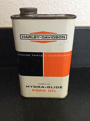 VINTAGE HARLEY-DAVIDSON HYDRA-GLIDE FORK OIL CAN - EMPTY - 99880-49