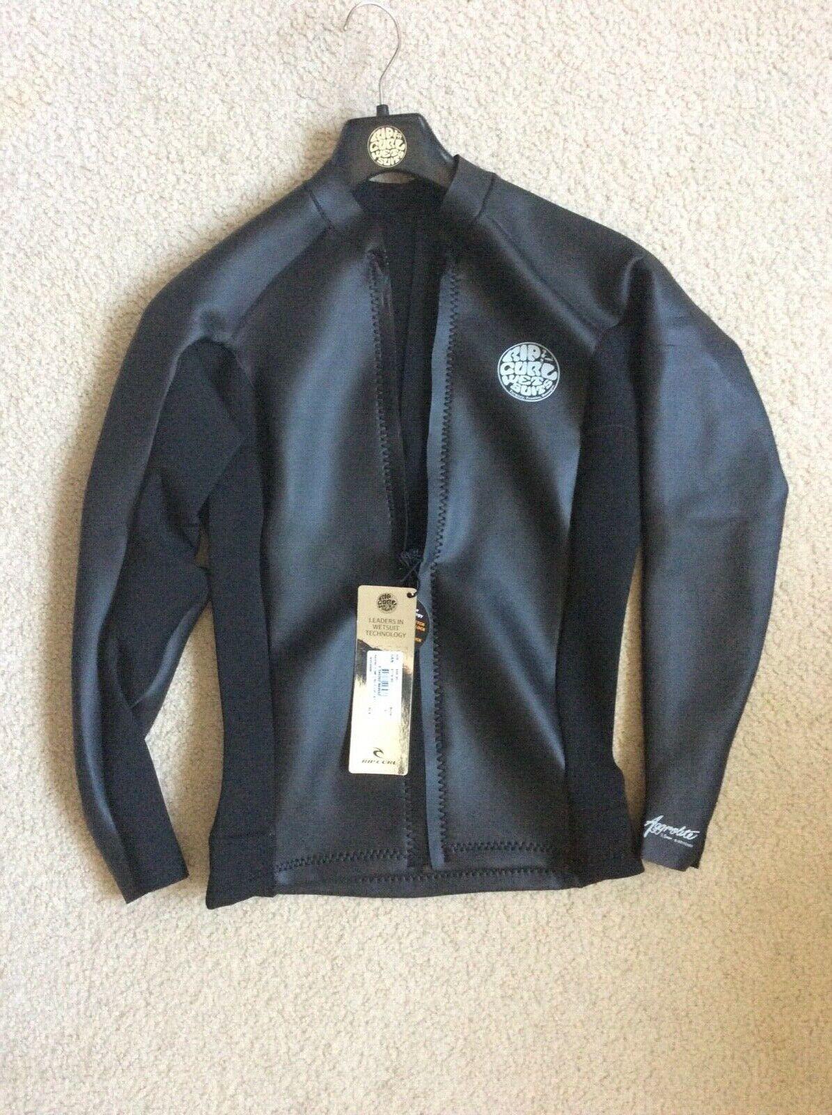 Rip Curl Aggrolite Men's Wetsuit 1.5mm L/SL F/ Zip Neopren
