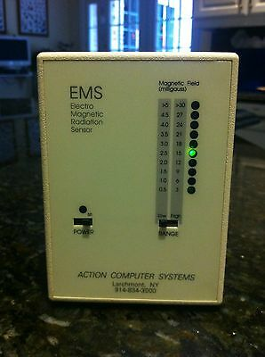 Emf Led Digital Electromagnetic Radiation Detector Sensor Meter Model Acs-1008
