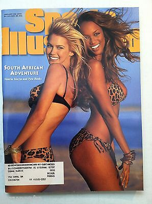 1996 Tyra Banks   Valeria South African Fun Swimsuit Issue Sports Illustrated