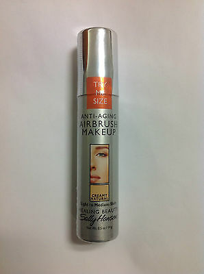 Trial Size Sally Hansen Airbrush Makeup Foundation CREAMY NATURAL NEW.