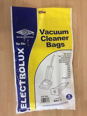 5x Vacuum Cleaner Bags, Electrolux 500 Series Twin Turbo Z500 Z502 Z504 Z1070