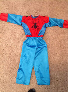 Kids Spider-Man Costume ; size 4-5